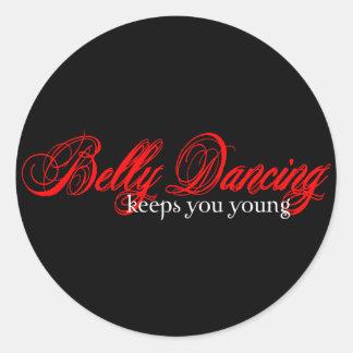 Belly Dancing Rocks Stickers