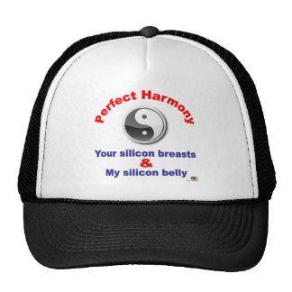 Belly del silicio gorras