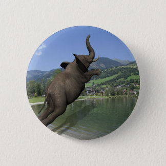 Belly Flop Elephant Button