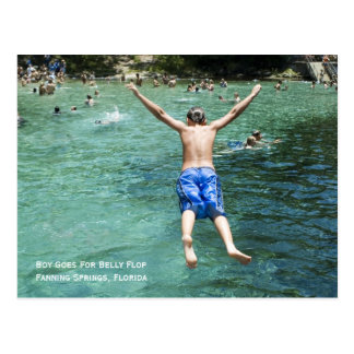 Belly Flop Postcard