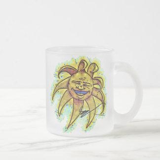 Belly Laugh Cartoon Mug