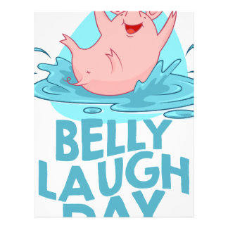 Belly Laugh Day - Appreciation Day Letterhead