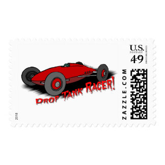 Belly Tank Racer Postage Stamp