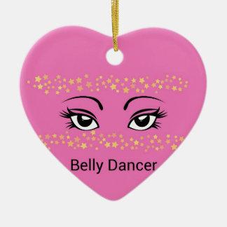 Bellydance Ceramic Ornament