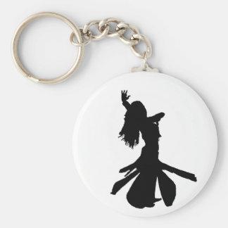 Bellydancer Keychain