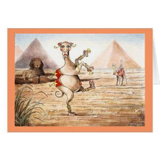 Bellydancing Camel Card