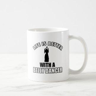 Bellydancing designs mugs