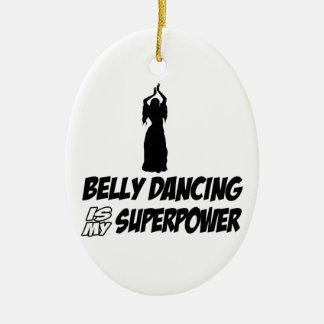 Bellydancing designs christmas ornaments