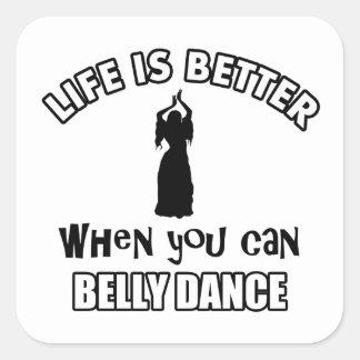 Bellydancing designs sticker