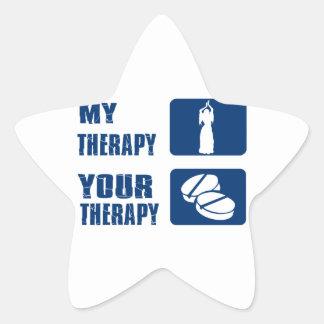 Bellydancing designs star stickers