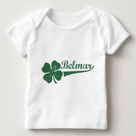 Belmar NJ Shamrock Baby T-Shirt