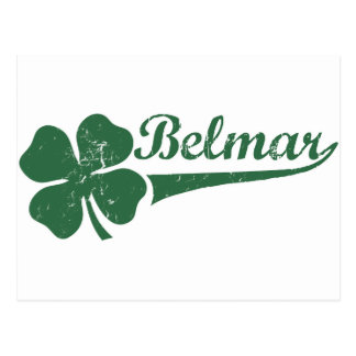 Belmar NJ Shamrock Post Card
