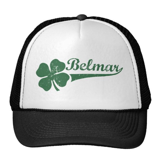 Belmar NJ Shamrock Trucker Hat