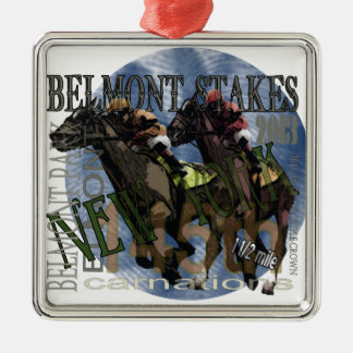 Belmont 145 metal ornament