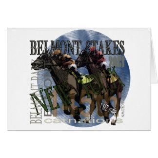 Belmont 145 tarjeta de felicitación