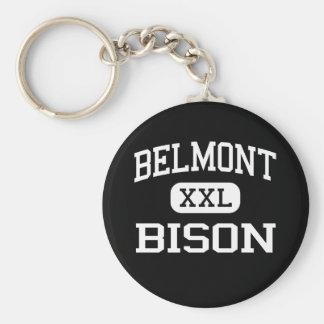 Belmont - Bison - High School - Dayton Ohio Keychains