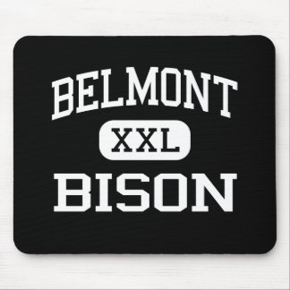 Belmont - bisonte - High School secundaria - Dayto Mousepads