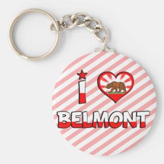 Belmont CA Keychains