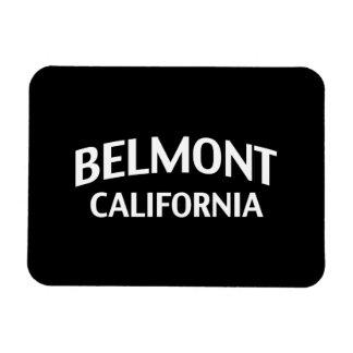 Belmont California Rectangular Photo Magnet