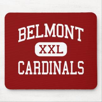 Belmont - cardenales - alto - Belmont Mississippi Mousepads