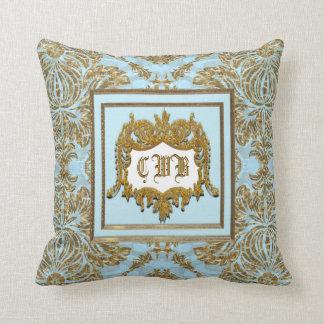 Belmont Elegant Monogram Pillow
