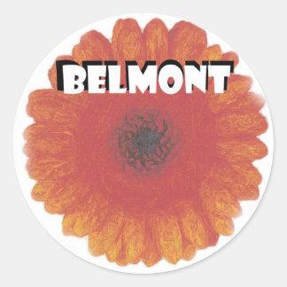BELMONT Flower Sticker
