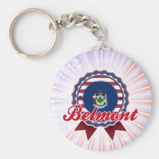 Belmont ME Key Chain