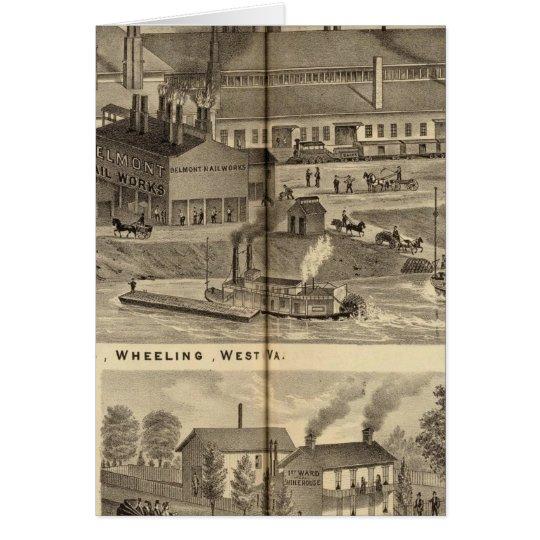 Belmont Nail Works, Wheeling Card