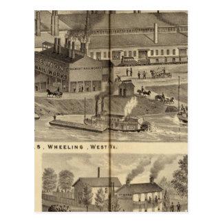 Belmont Nail Works, Wheeling Postcard