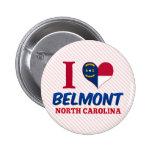 Belmont, North Carolina Button