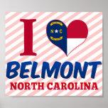 Belmont, North Carolina Poster