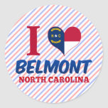 Belmont, North Carolina Stickers