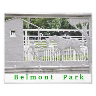Belmont Park Art Photo Print