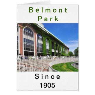 Belmont Park hermoso Tarjeta De Felicitación