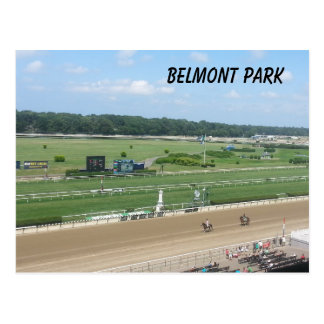 Belmont Park Postcard