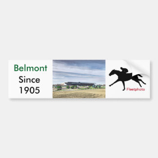 """Belmont Park """"Where Champions are Crowned"""" Bumper Sticker"""
