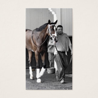 """Belmont Park - """"Where Champions are Crowned"""" Business Card"""