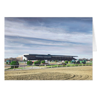 """Belmont Park """"Where Champions are Crowned"""" Card"""