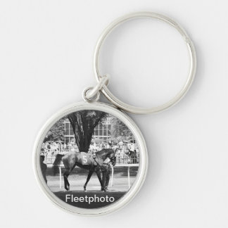 "Belmont Park  ""Where Champions are Crowned"" Keychain"