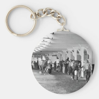 """Belmont Park - """"Where Champions are Crowned"""" Keychain"""
