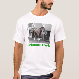 "Belmont Park - ""Where Champions are Crowned"" T-Shirt"