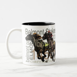 Belmont Stakes 145 Two-Tone Coffee Mug
