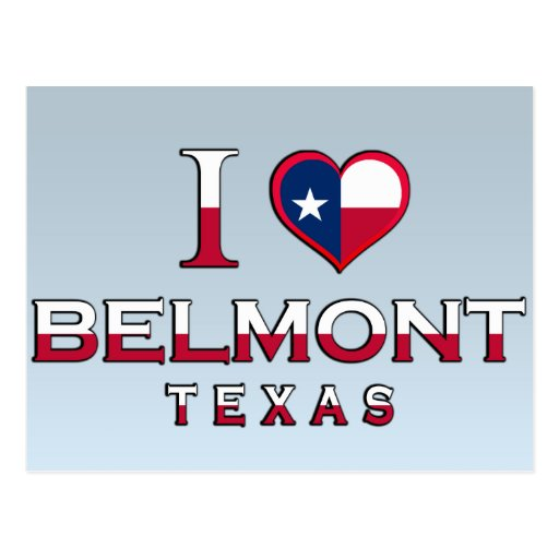 Belmont, Tejas Tarjetas Postales