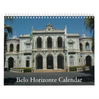 Belo Horizonte - Calendar - Calendario