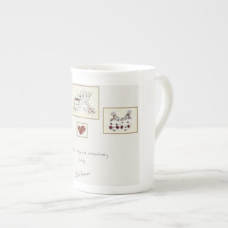 Belong to a Nutty and Extraordinary Family Tea Cup