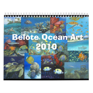 Belote Ocean Art Calendat Calendar