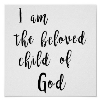 Beloved child of God - poster
