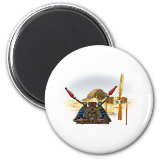 Beloved Princess of Egypt 2 Inch Round Magnet