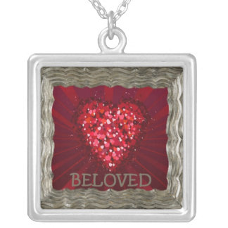 BELOVED SILVER PLATED NECKLACE