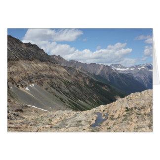 Below Farnham Glacier, Jumbo, BC, Canada Card